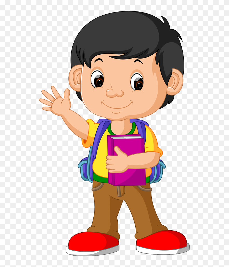 Picture boy. Royalty free clip art