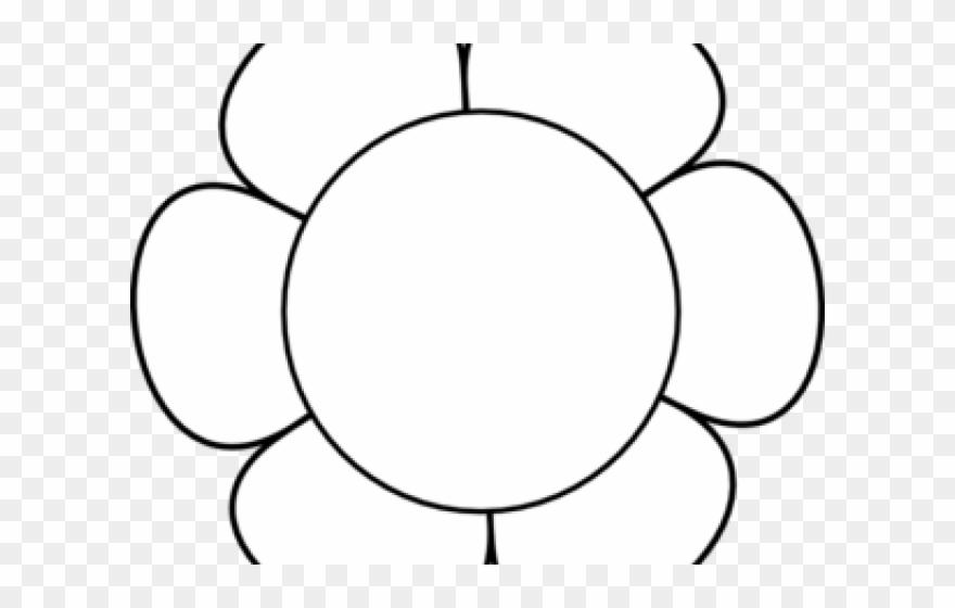 Flower outline white. Clip art clipart png