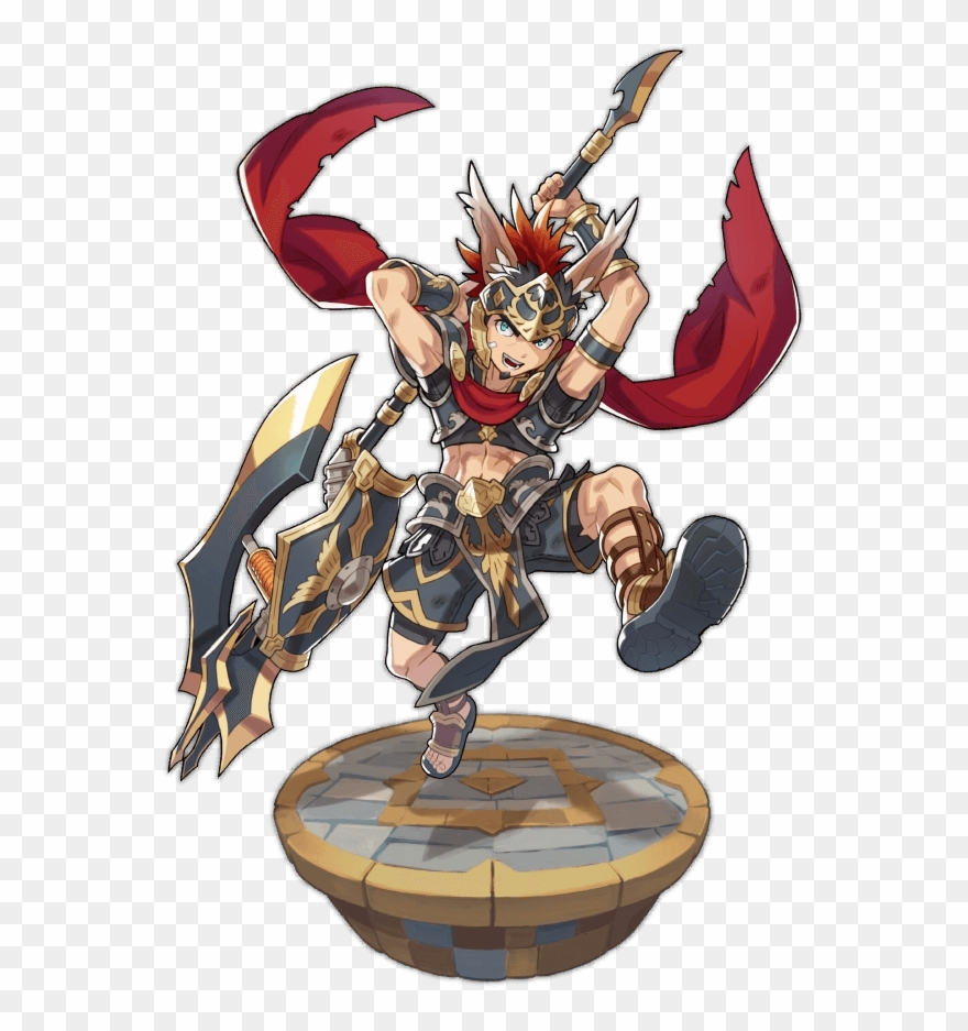 Character Tier - Dragalia Lost Linus Clipart (#1492400) - PinClipart