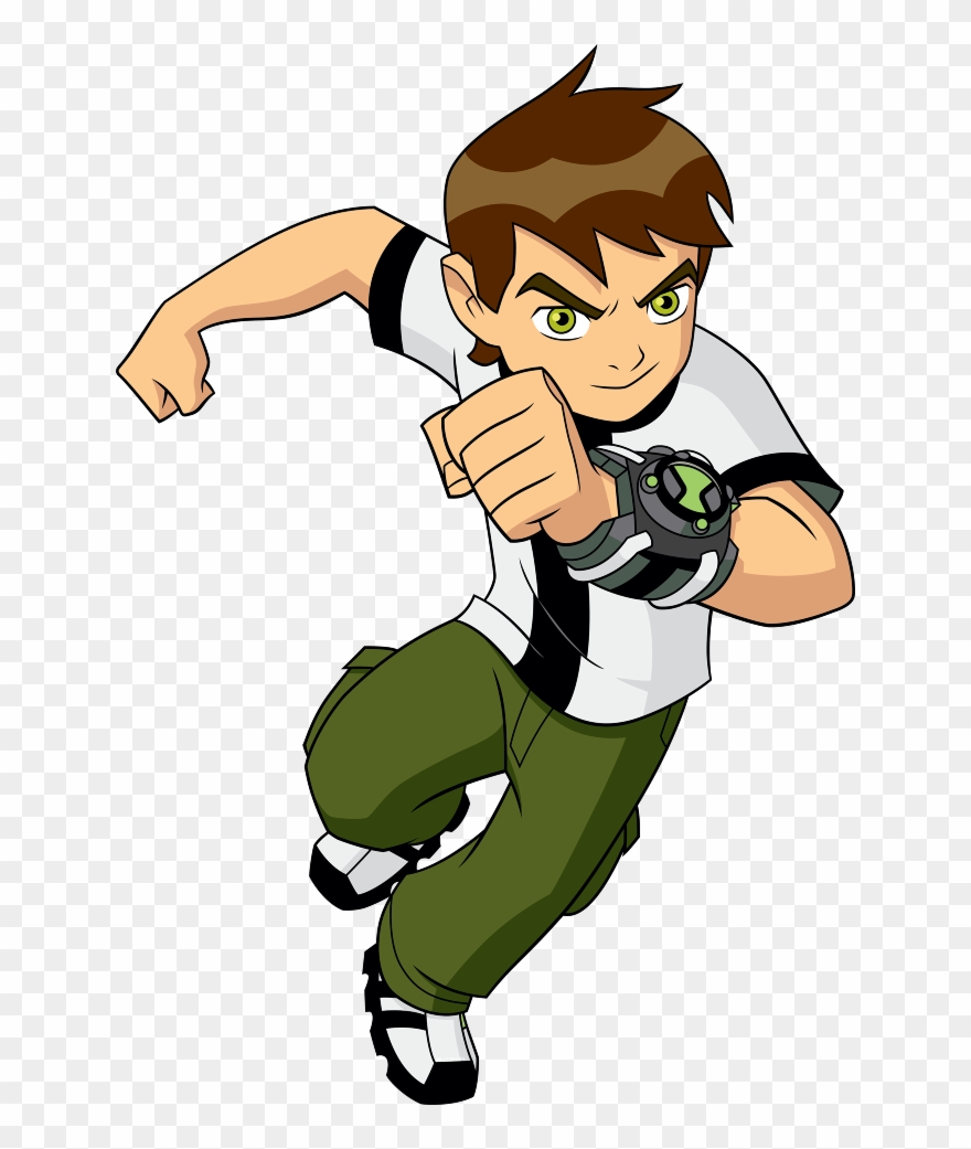 Cartoon Network 4 Muresco Parragon Ben 10 Super Stories For Superheroes Clipart 1496326 Pinclipart