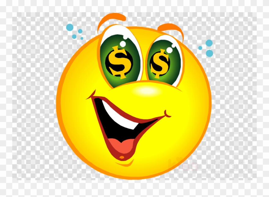 Clip arts emoticon. Happy money clipart smiley
