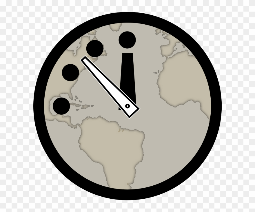 Clock Clip Art Download Doomsday Clock Clipart Png Download 150461 Pinclipart