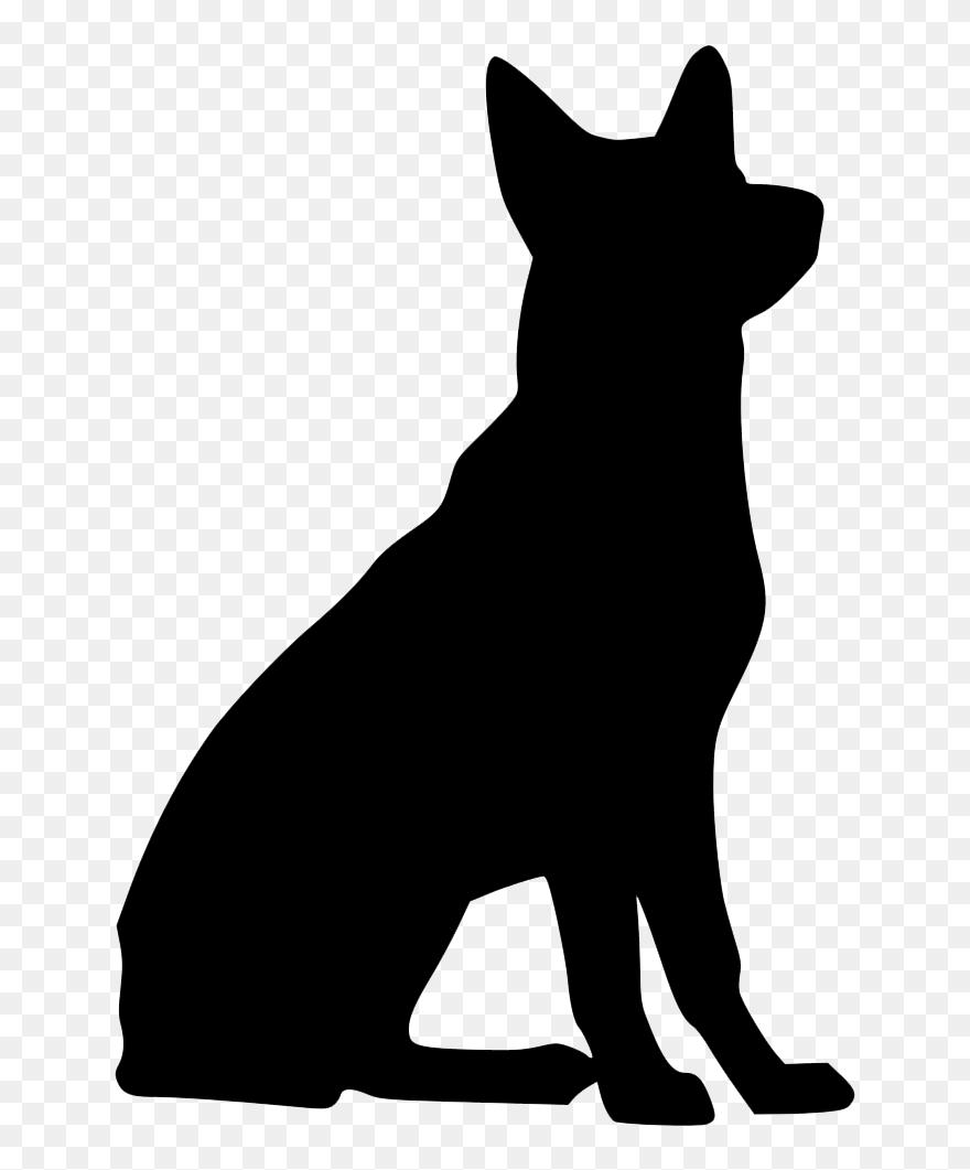Svg Library Download Black German Shepherd Clipart German Shepherd Free Svg Png Download 150536 Pinclipart