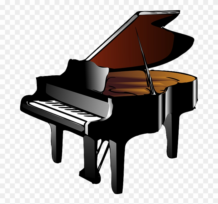 Keyboard And Piano Clipart Clipart Piano Png Download 154006 Pinclipart