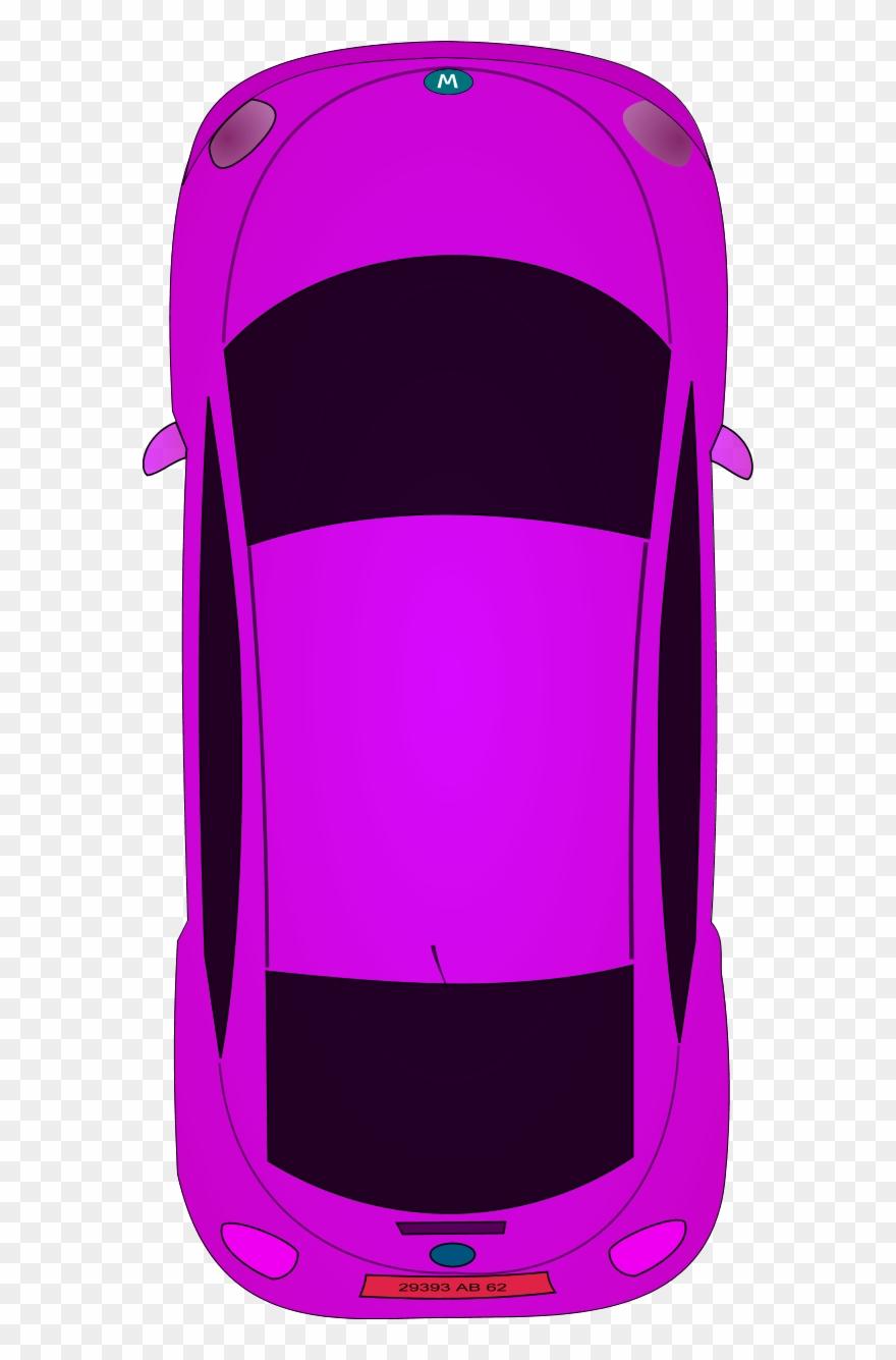 Race Car Clipart Above Bird Eye View Car Cartoon Png Download