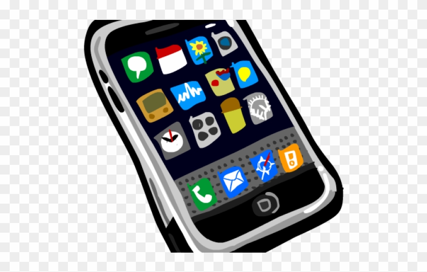 Cell Phone Clipart Cellphone Clipart Png Download 159246 Pinclipart
