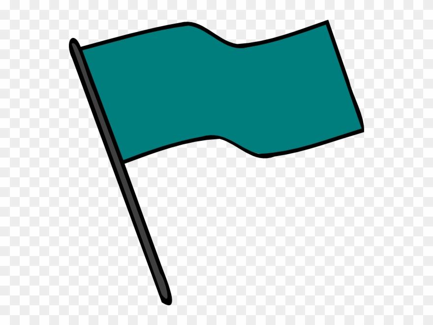 Teal Flag Clipart (#159616) - PinClipart