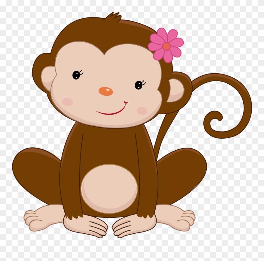 Monkey jungle. Safari clipart rainforest animals