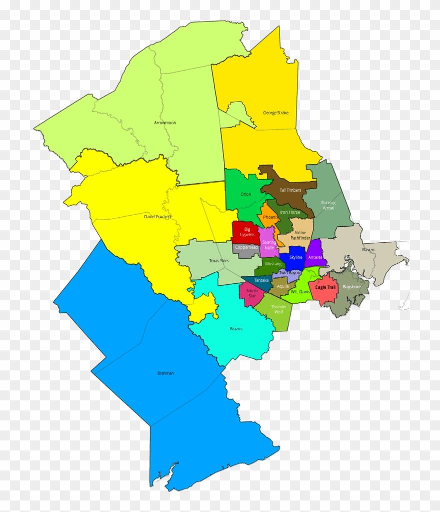 School District Map Houston Bnhspine Com Runoff Election - Houston ...