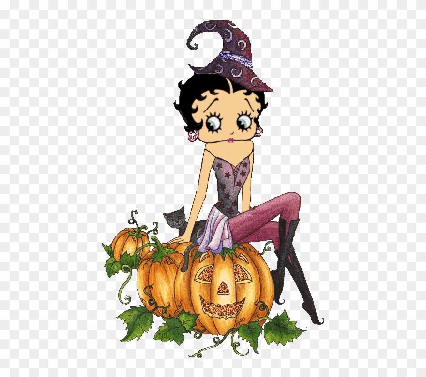 Simpática Brujita Boop Gif, Betty Boop Halloween, Gif ...