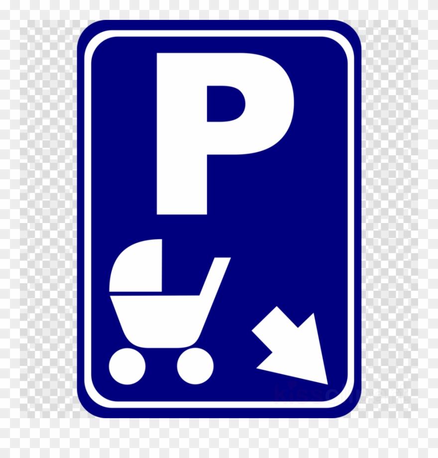 - Pram Parking Sign Clipart Car Park Disabled Parking - Pram Parking