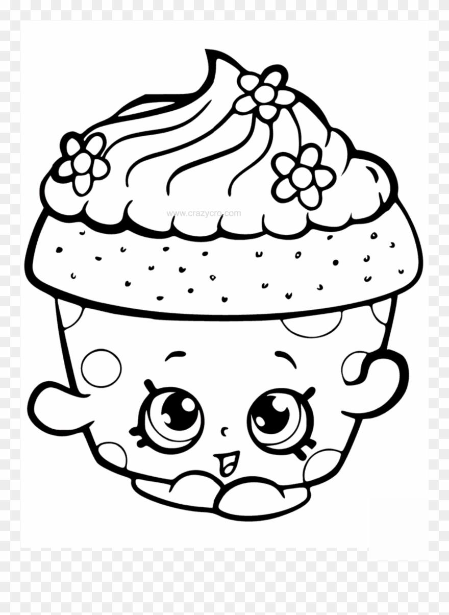 - Cupcake Petal Shopkin Coloring Page - Shopkins Cupcake Coloring