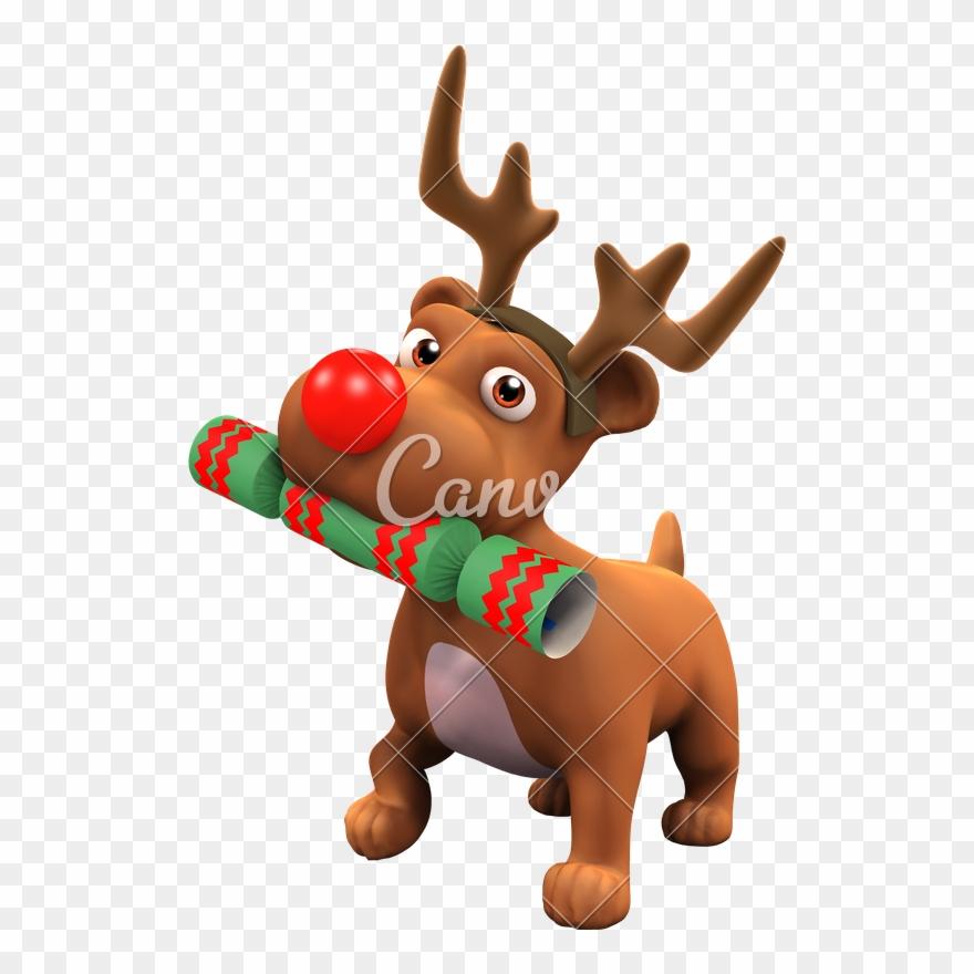 Reindeer Antlers Png Clip Free Download Dog Reindeer Cartoon Transparent Png 1518685 Pinclipart