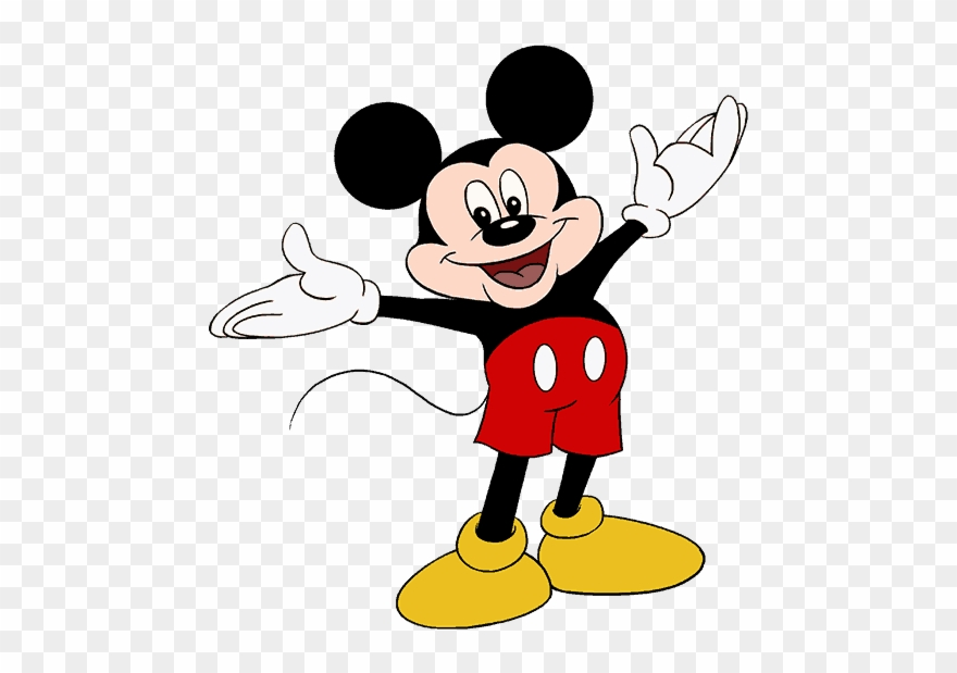 How To Draw Mickey Mouse Easy Drawing Cartoon Mickey Mouse Clipart 1520327 Pinclipart