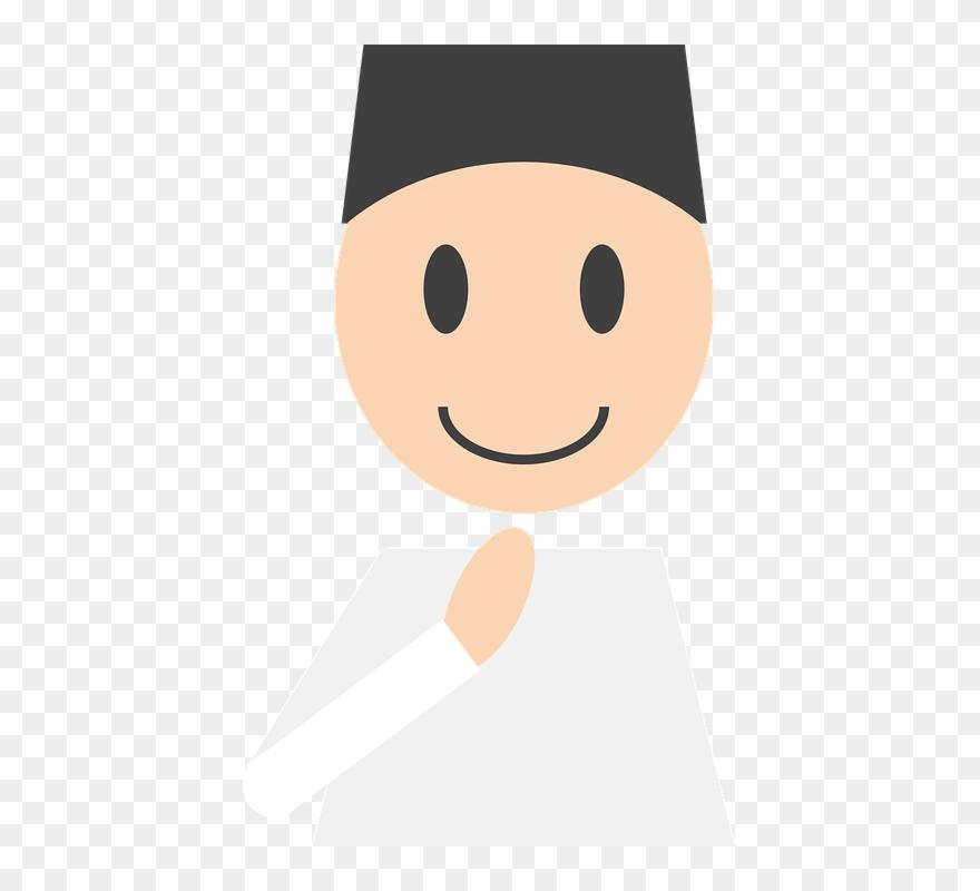 Muslim Prayer Cliparts 22 Buy Clip Art Logo Laki Laki Muslim Png Download 1532620 Pinclipart