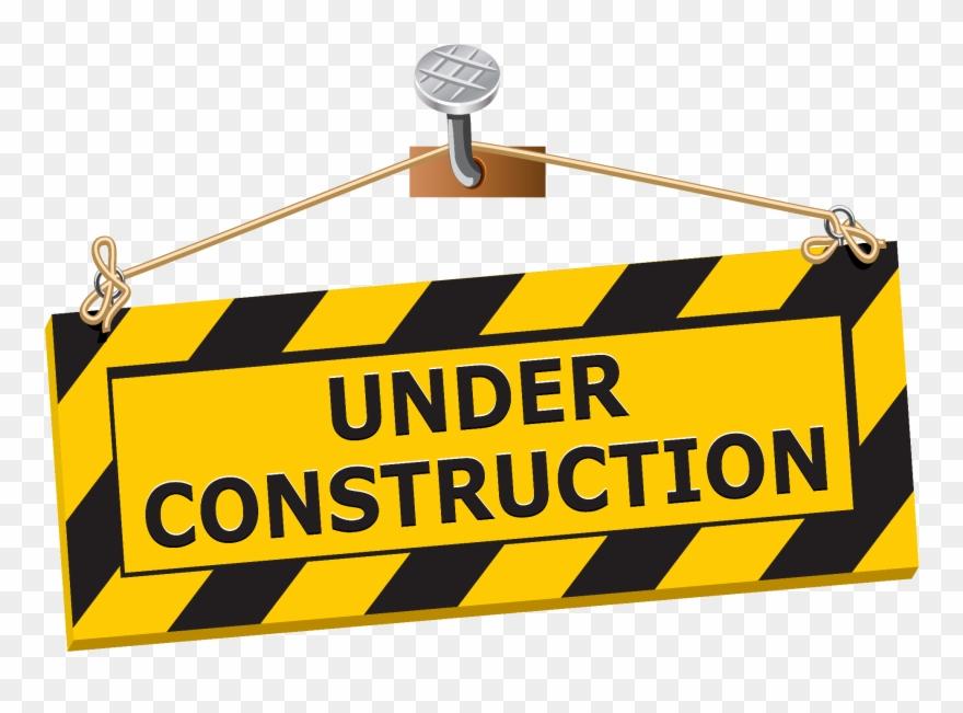 Landscape Construction Perficut Mowing Grass Clip Art - Under Construction Sign Clipart - Png Download