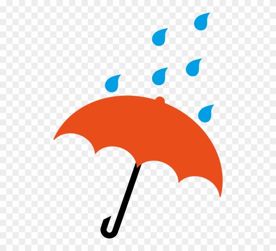 Parapluie Pluie Dessin Couleur Clipart 1533071 Pinclipart