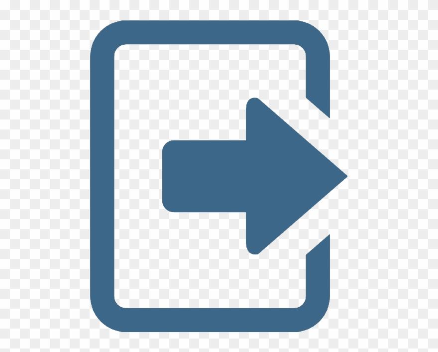 Logout - Logout White Icon Png Clipart (#1536234) - PinClipart