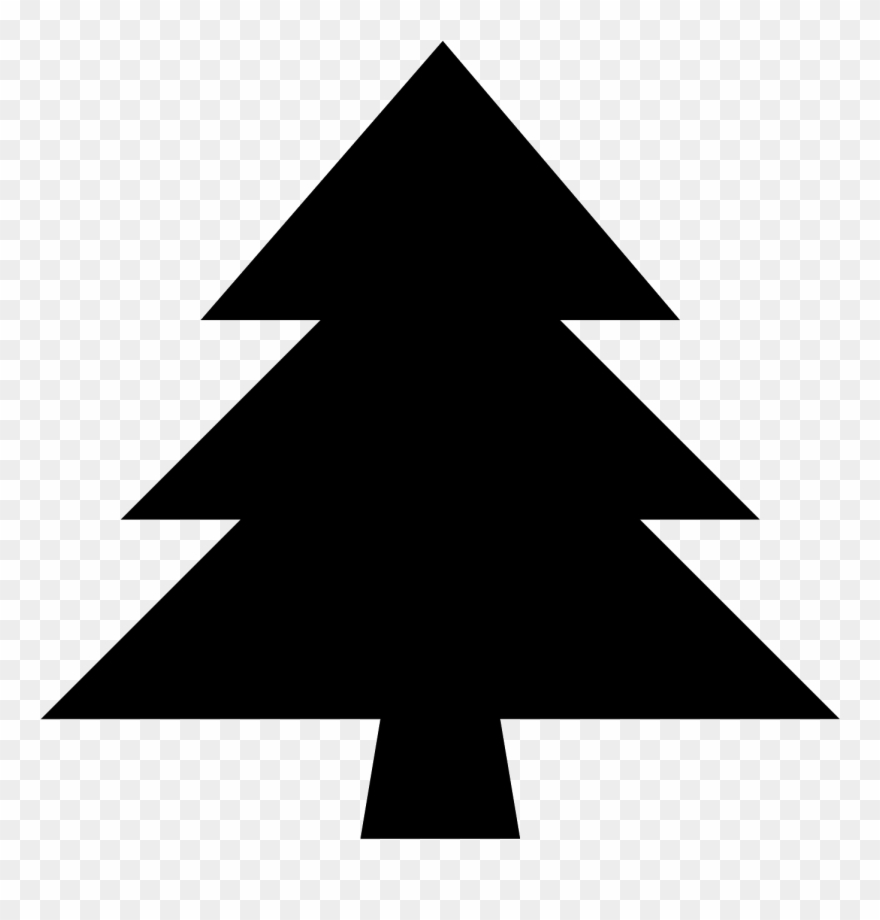 Evergreen Icon Free Png And Svg Download Evergreen Black Christmas