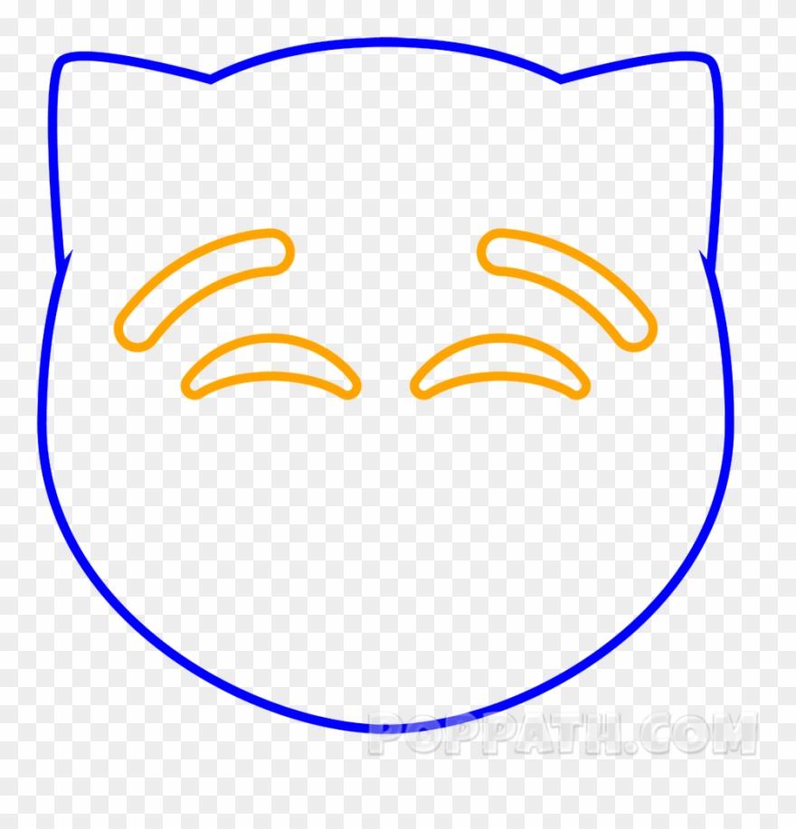 Biceps Drawing Drawn Emojis Gato Enamorado Para Colorear Clipart