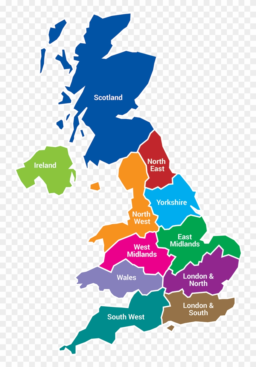 Map Of Uk Oxford.The Institute Of Roofing Has 11 Regions In The United Oxford On