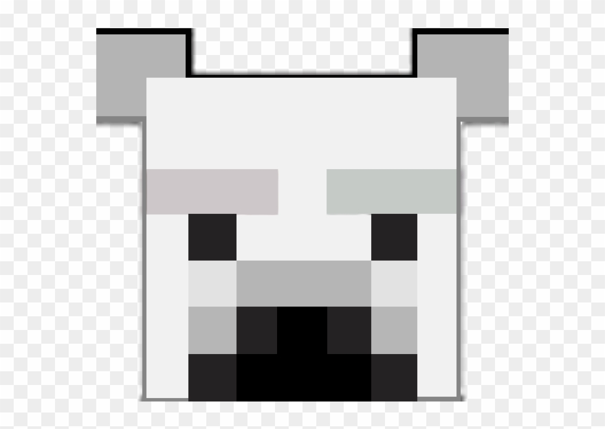 Polar Bear Face Minecraft Faces Clipart 1542686 Pinclipart
