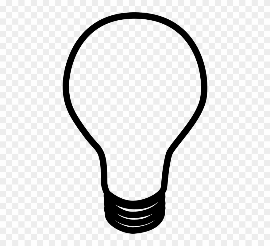 light bulb outline 8 buy clip art light bulb clip art black and white png download 1542959 pinclipart light bulb outline 8 buy clip art