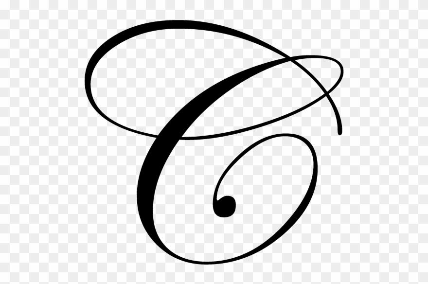 Fancy Cursive Alphabet Letters Letra C Mayuscula Cursiva
