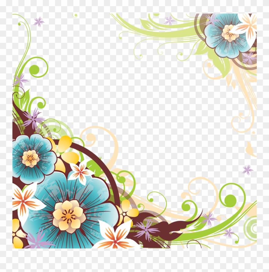 cvety i chernilnica flower vector corner png clipart 1546892 pinclipart flower vector corner png clipart