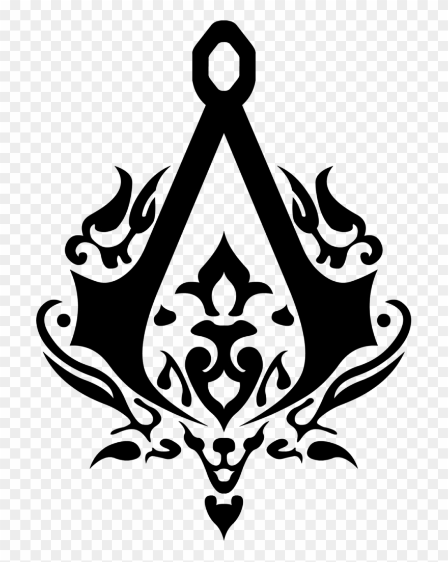 Assassin S Creed Symbol Png Clipart 1549253 Pinclipart