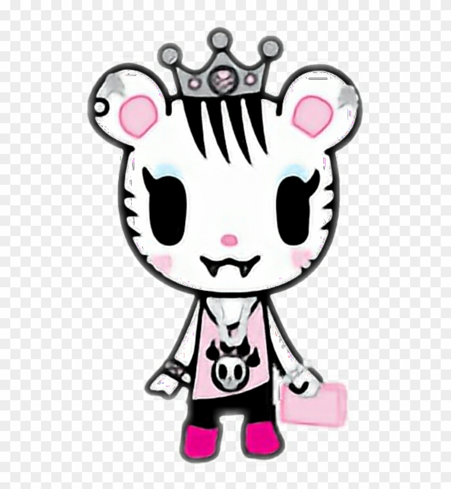best authentic c5f4b c30ea Tiger Pink Sweet Queen Tokidoki Kawaii - Tokidoki Clipart ...