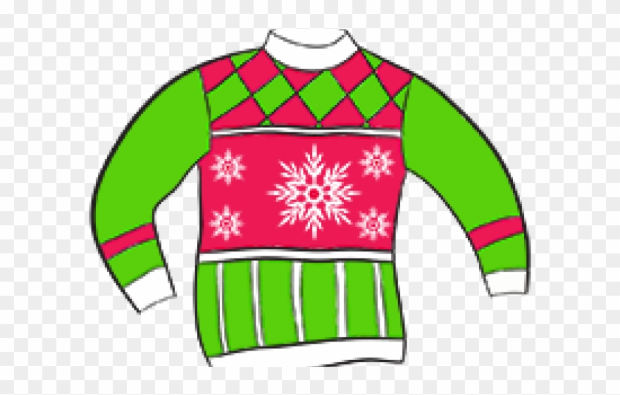 Christmas Sweater Clipart.Crazy Clipart Sweater Ugly Christmas Sweater Clipart No