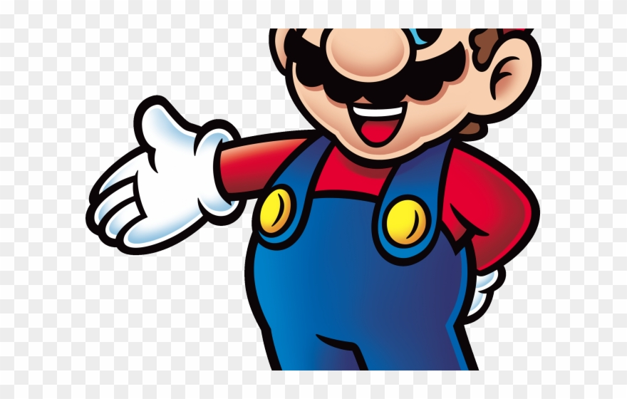 Mario Clipart File Super Mario Coloring Print Png Download