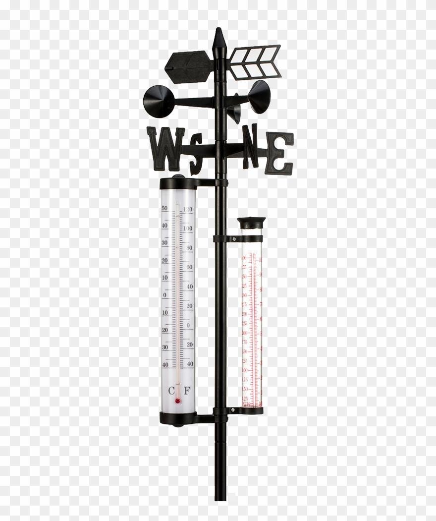 Wetterstation Garten Strebergarten Analog 4 Weather Station