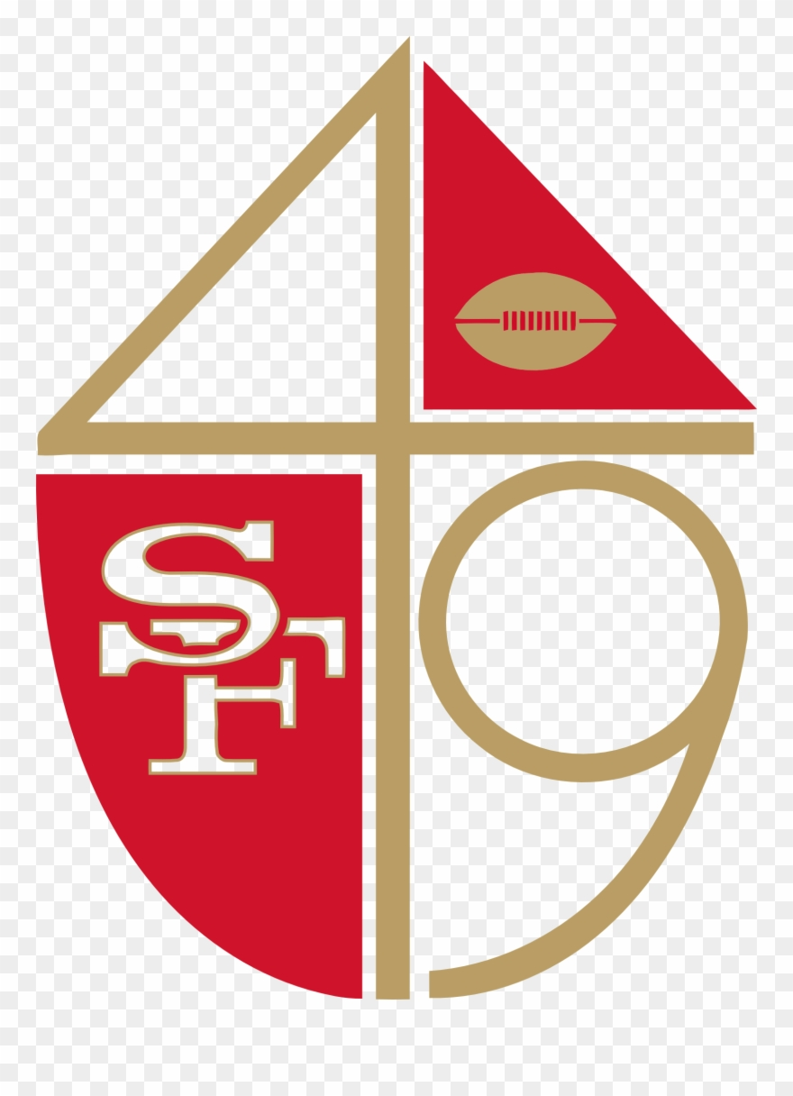49ers Logo Png Wwwimgkidcom The Image Kid Has It Logos And Uniforms Of The San Francisco 49ers Clipart 1566065 Pinclipart