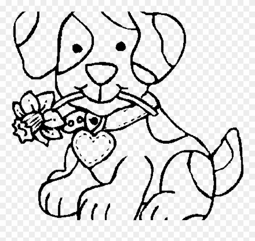 Dog Coloring Pages - Free Printable - Easy Peasy and Fun | 832x880