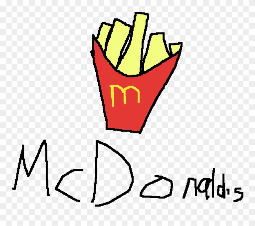 McDonald's French Fries Hamburger Clip Art Borders And Frames, PNG,  493x600px, French Fries, Borders And Frames,