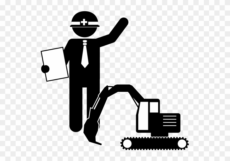 Civil Engineering & Construction Management Engineer - Engineering And Construction Icon Clipart