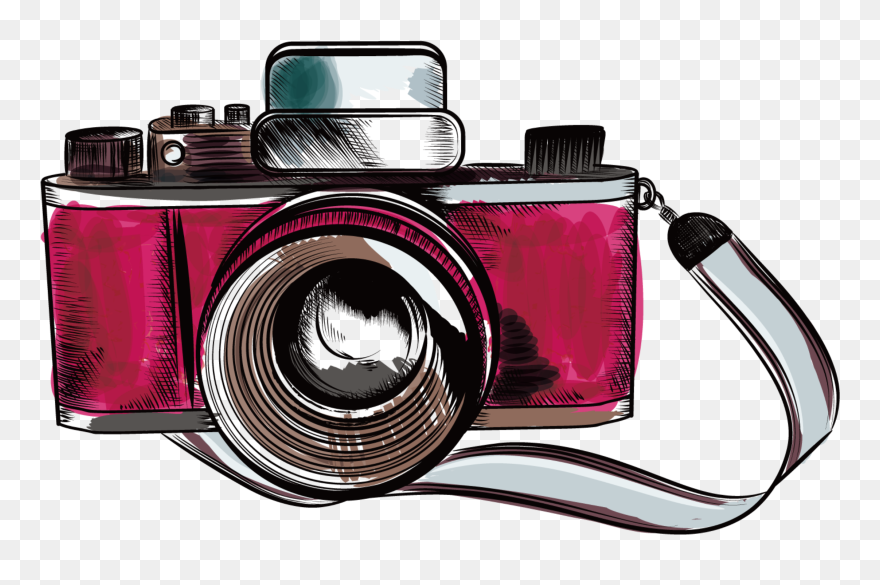 Camera Vintage Vector Png : Ftestickers clipart camera vintage retro vintage camera vector png