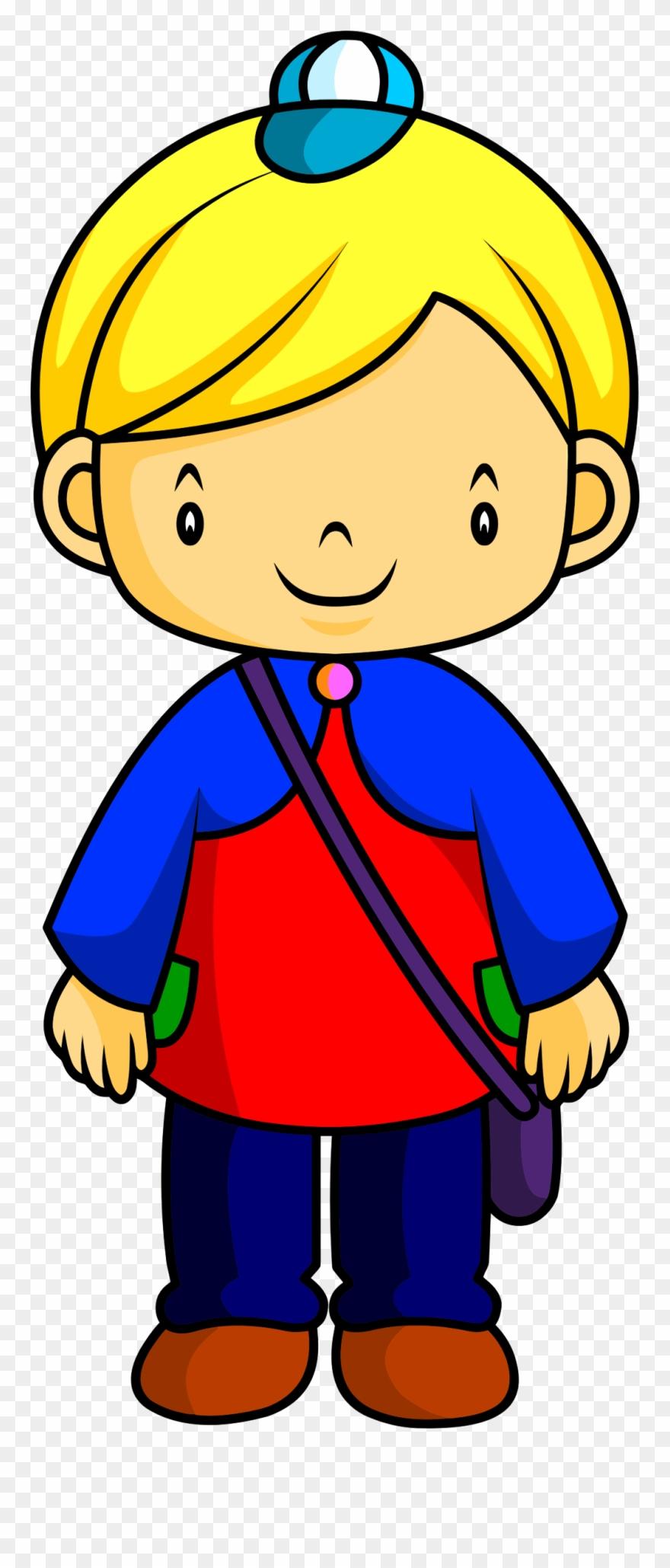 Big Image Bambino Biondo Disegno Clipart 1587344 Pinclipart