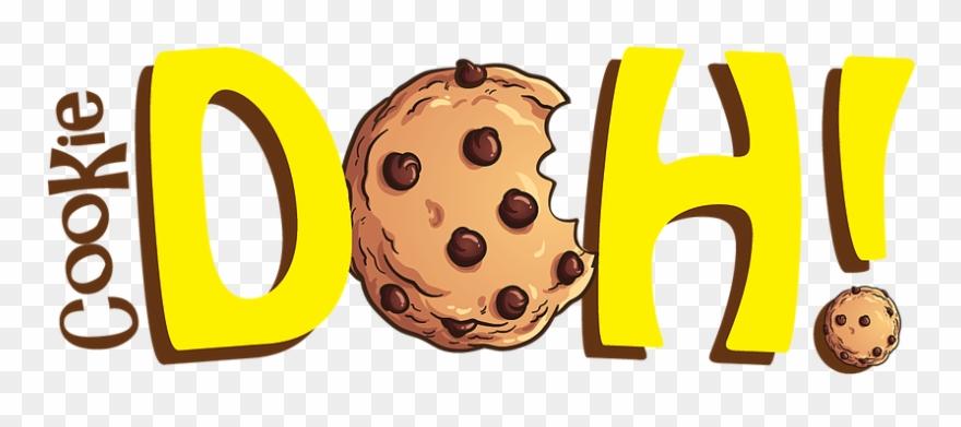 Weihnachtsplätzchen Clipart.Doh Cookie Dough Vegan Gf Plätzchen Sind Mein Freund Grußkarte