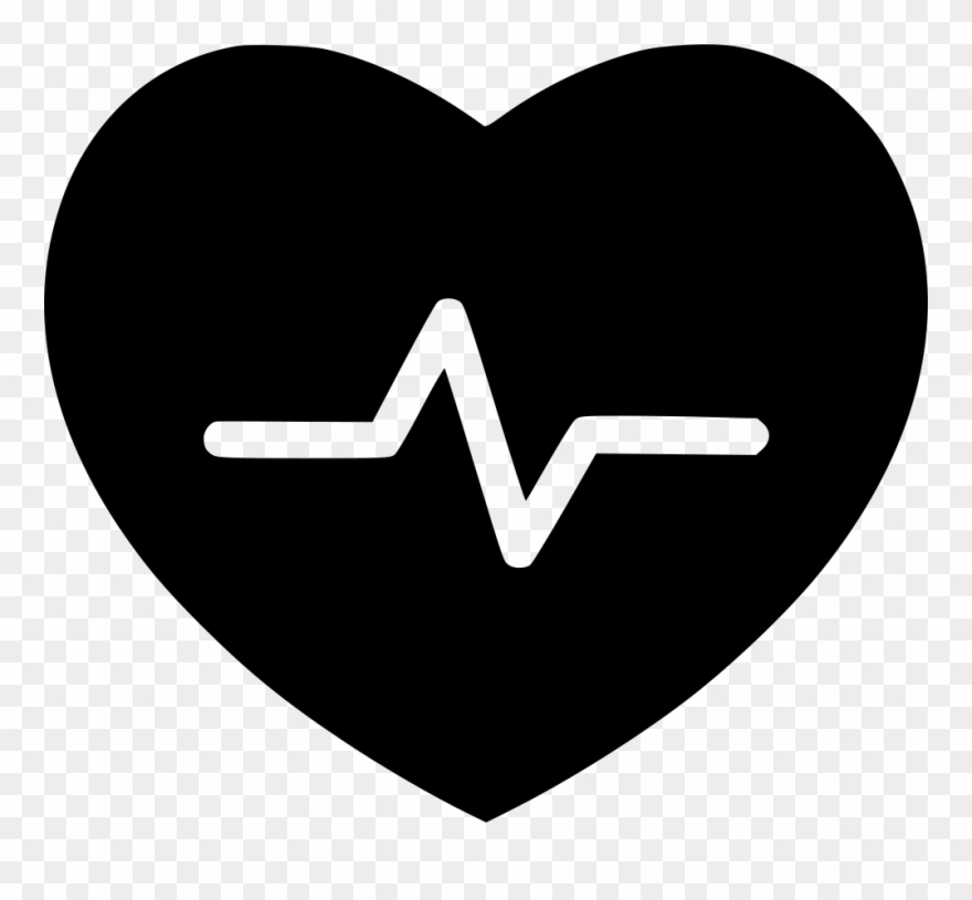 Beat Cardiac Care Health Healthcare Healthy Heart White Healthy Icon Png Clipart 1592770 Pinclipart