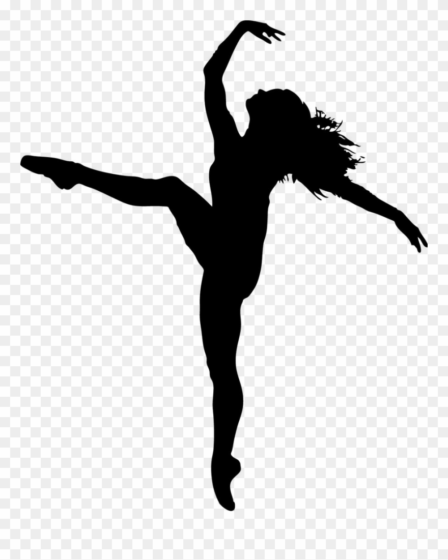 Dancer Png Female Hip Hop Dancer Silhouette Dance Silhouette International Dance Day 2018 Clipart 161479 Pinclipart