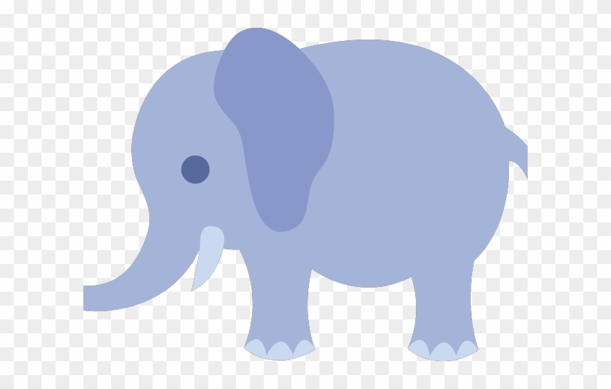 Numbers Clipart Elephant Baby Shower Clipart Transparent