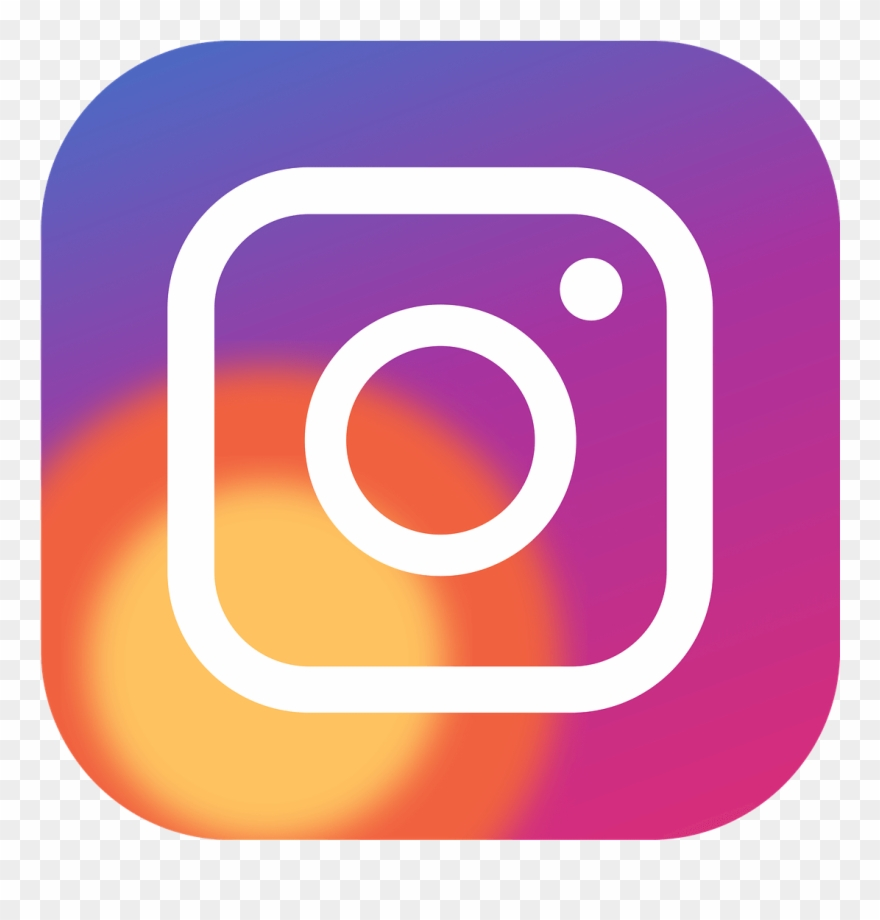 Instagram new logo. Video icon clipart social