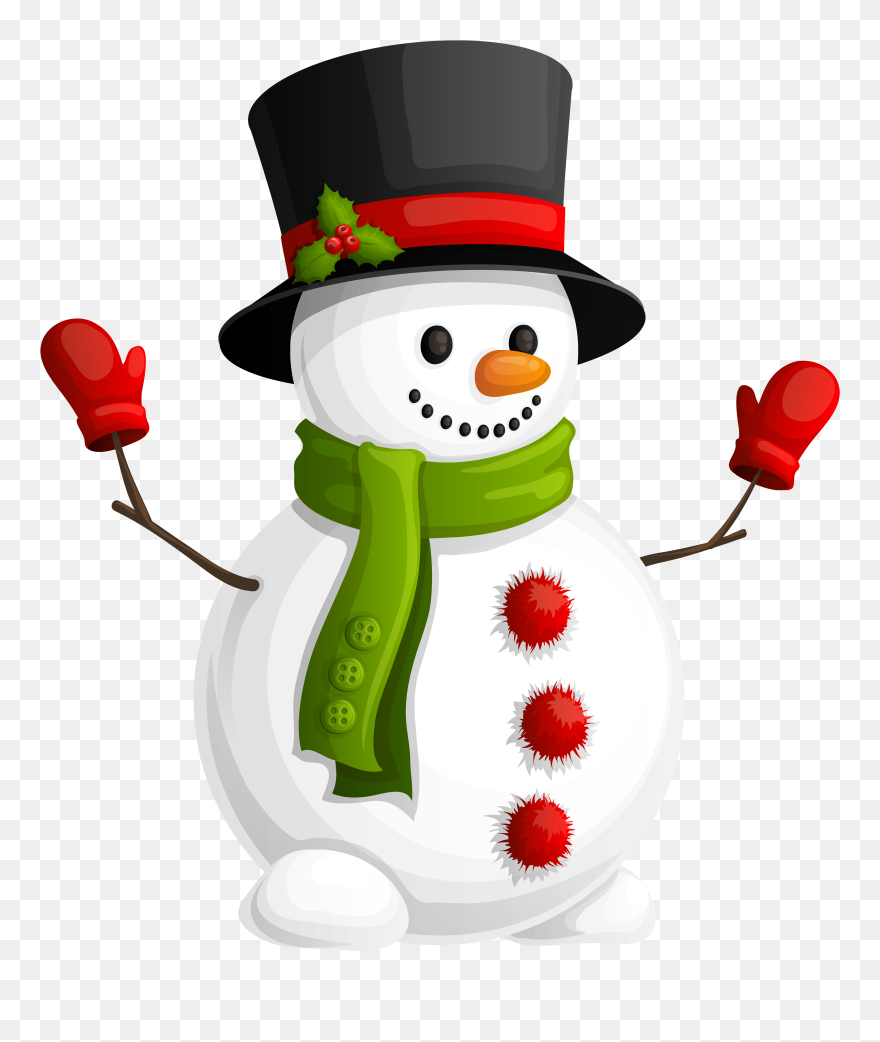 Market Clipart Ng Nanay Na Bonhomme De Neige Noel Png Download 166331 Pinclipart