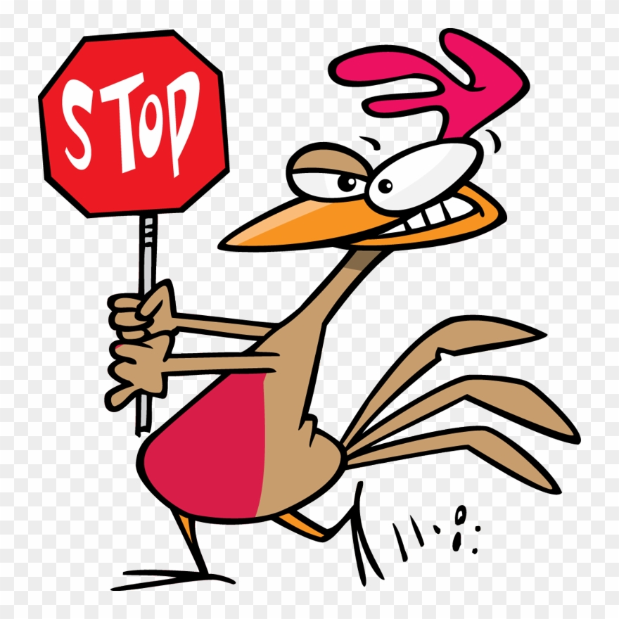 Mike Cooper - Real Estate - Funny Stop Sign Cartoon Clipart