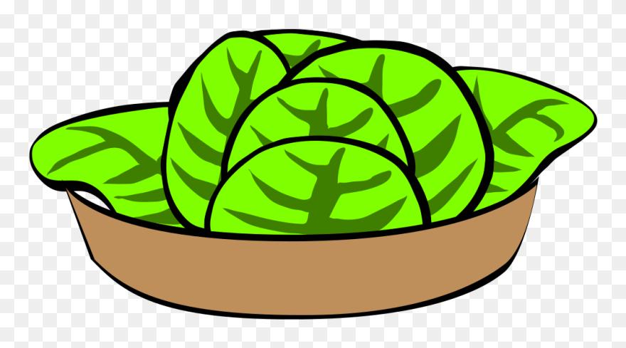 Salad Clipart Lettuce Caesar Salad Clip Art Png Download