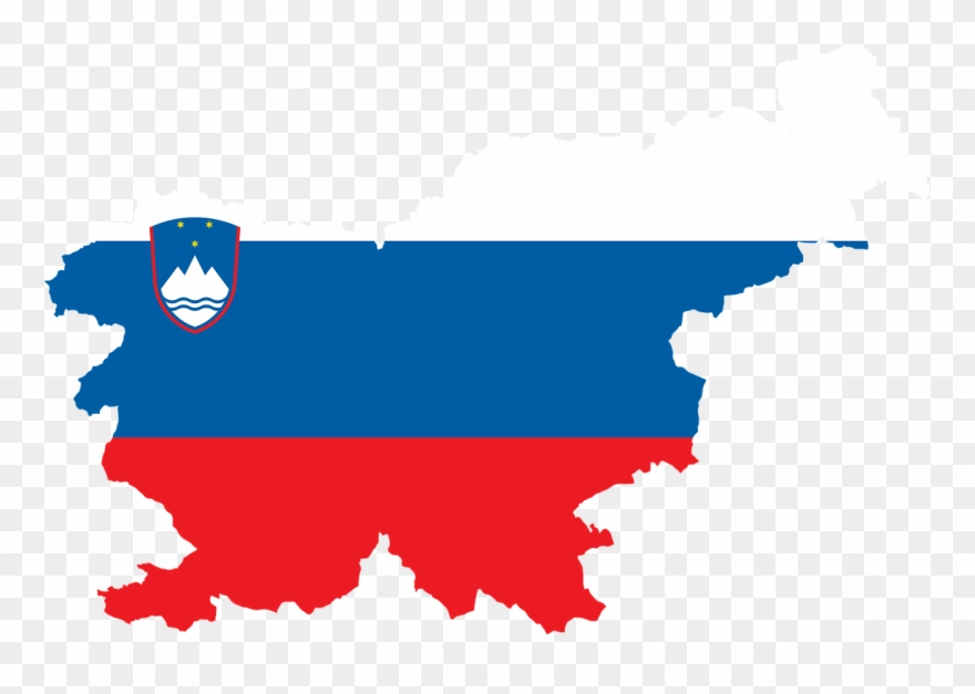 All Photo Png Clipart Slovenia Map With Flag Transparent Png 169752 Pinclipart