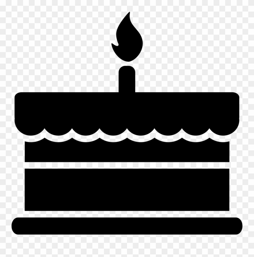 Cake Clipart - Birthday Cake Black And White Png, HD Png Download - 363x500  (#2813371) PNG Image - PngJoy